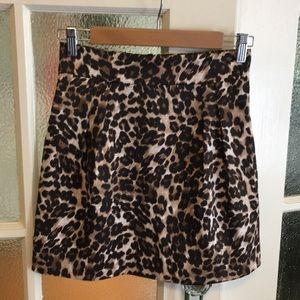 Naven leopard print skirt NWOT